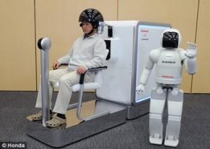 Honda utilise la force de la pensée pour faire bouger un robot