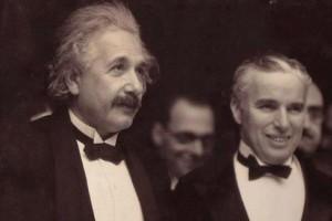 Chaplin et Einstein